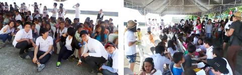 孤児院訪問